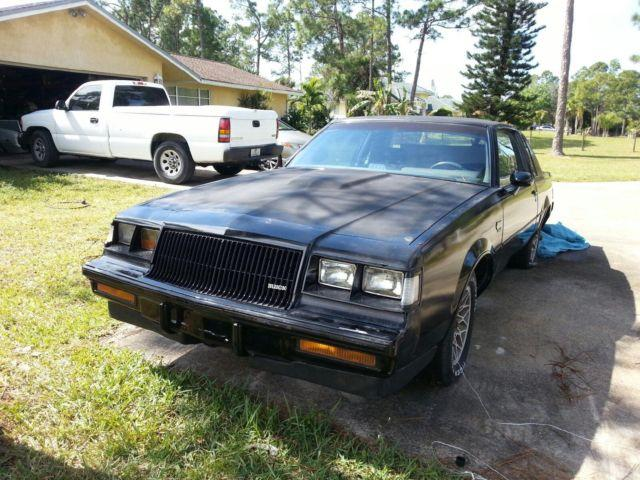 1987 buick grand national for sale in west palm beach florida. Cars Review. Best American Auto & Cars Review