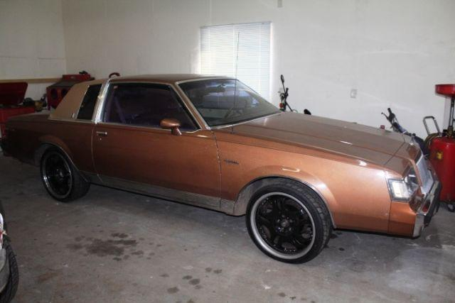 1987 buick regal limited coupe 2 door awesome hot rod for sale in hayward wisconsin. Black Bedroom Furniture Sets. Home Design Ideas