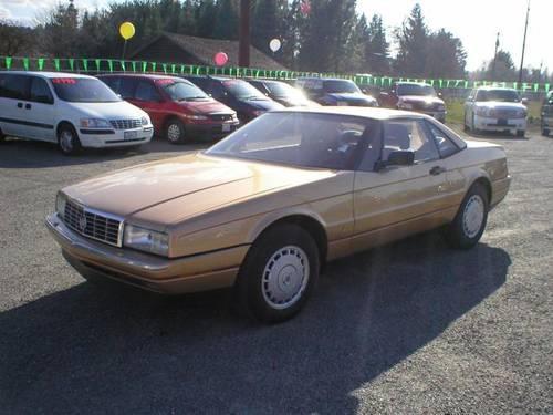 1987 Cadillac Allante Convertible For Sale In Spokane