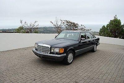 1987 california mercedes benz 300sdl turbo diesel super for Mercedes benz 300sdl for sale