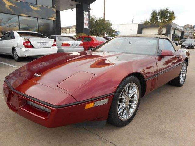 1987 chevrolet corvette base 2dr convertible for sale in houston texas classified. Black Bedroom Furniture Sets. Home Design Ideas
