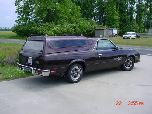 1987 Chevrolet El Camino Ss For Sale In Robersonville