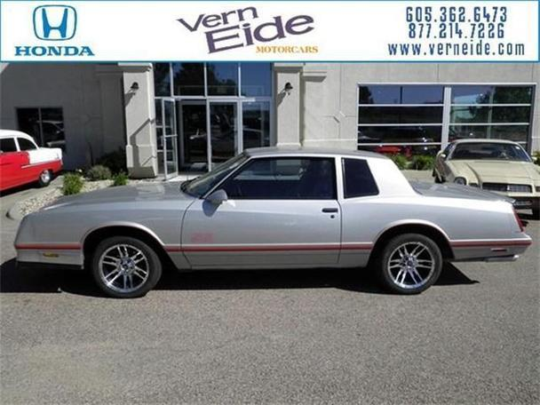 1987 Chevrolet Monte Carlo For Sale In Sioux Falls South