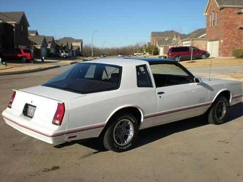 1987 chevrolet monte carlo ss american classic in fort. Black Bedroom Furniture Sets. Home Design Ideas