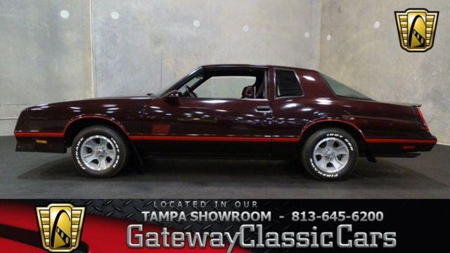 1987 Chevrolet Monte Carlo SS Areo Coupe #600TPA