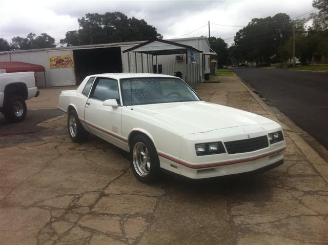1987 chevrolet monte carlo ss sport for sale in eunice louisiana classified. Black Bedroom Furniture Sets. Home Design Ideas
