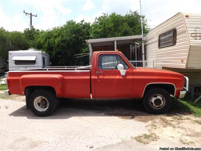 1987 chevy 1 ton shortbed dually truck for sale in san antonio texas classified. Black Bedroom Furniture Sets. Home Design Ideas