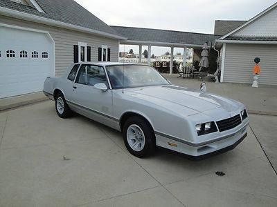 1987 Chevy Monte Carlo Ss One Owner Must See For Sale
