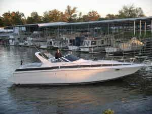 1987 Chris-Craft 412 Amerosport