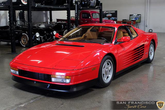 1987 ferrari testarossa for sale in san carlos california. Black Bedroom Furniture Sets. Home Design Ideas