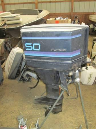 1987 Force 50 HP Outboard Motor - $475