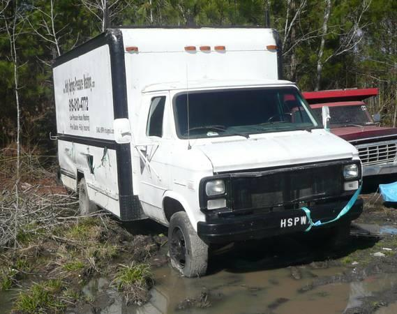 1987 GMC G3500 Dually Box Truck Parts