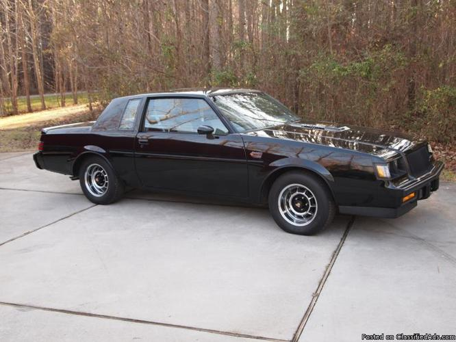 1987 buick grand national for sale 1987 buick grand national for. Cars Review. Best American Auto & Cars Review
