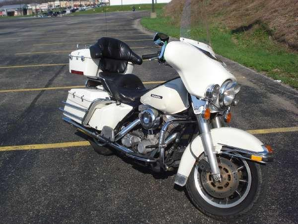 1987 Harley-Davidson FLHTP Electra Glide Police Model