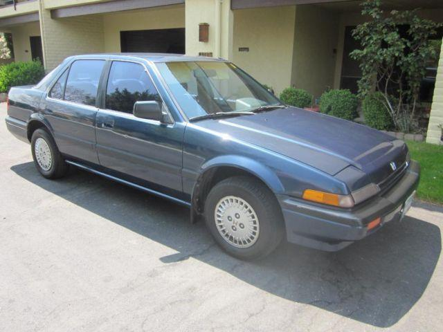 1987 Honda Accord LX 4 door, Automatic, 93,432 original miles, 1 owner