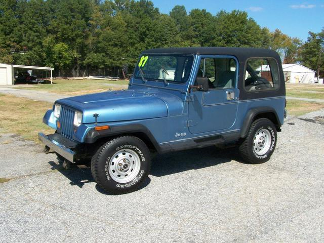1987 jeep wrangler for sale in greenville south carolina classified. Black Bedroom Furniture Sets. Home Design Ideas
