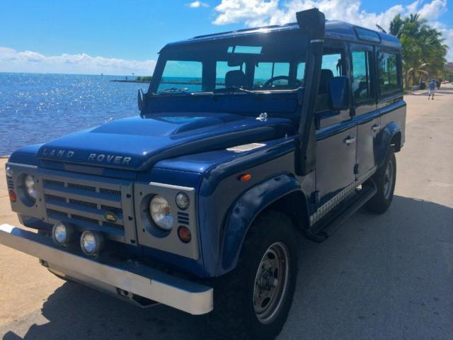 1987 land rover defender 110 left hand drive florida title for sale in east rockland key. Black Bedroom Furniture Sets. Home Design Ideas
