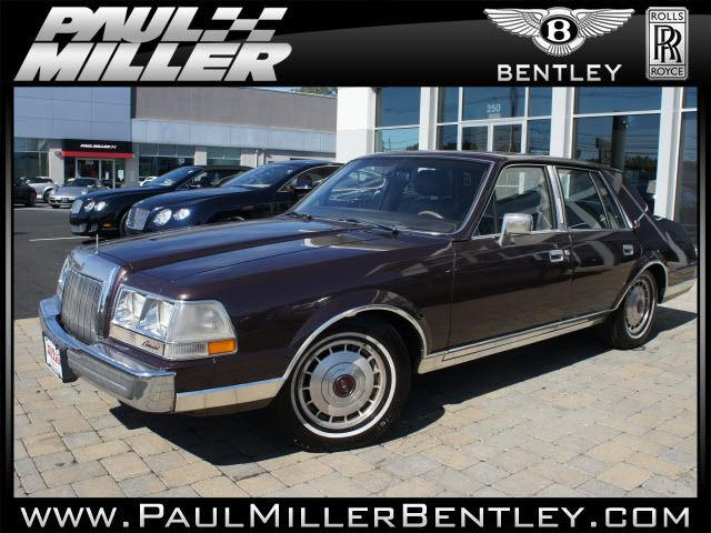 1987 lincoln continental for sale in parsippany new jersey classified. Black Bedroom Furniture Sets. Home Design Ideas