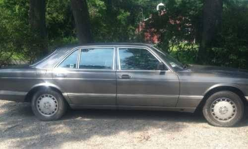 1987 mercedes benz 300sdl import classic in bethany ct for Mercedes benz 300sdl for sale