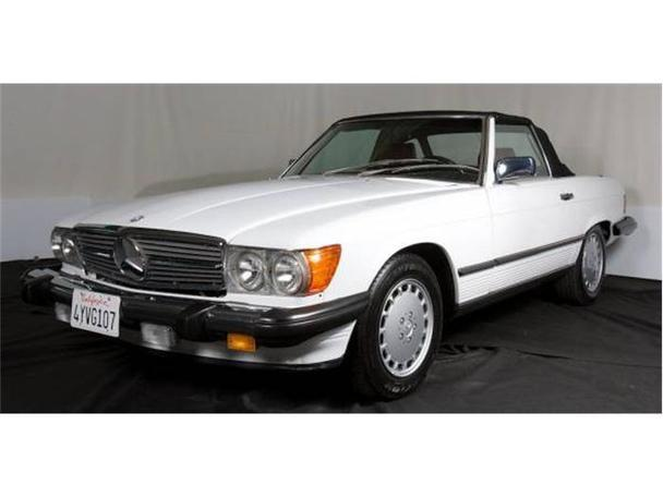 1987 mercedes benz 560sl for sale in monterey california for Mercedes benz of monterey monterey ca