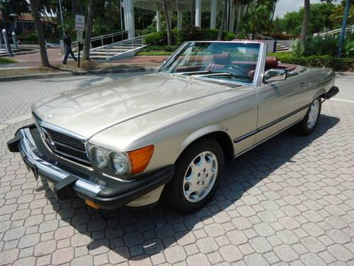 1987 mercedes benz 560sl for sale in miami florida for 1987 mercedes benz 560sl value