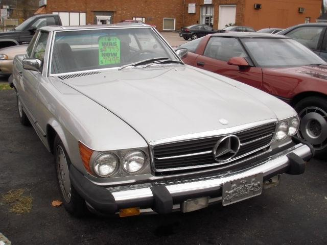 1987 mercedes benz sl class 560sl for sale in pittsburgh for Mercedes benz pittsburgh