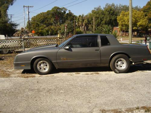 1987 monte carlo ss for sale in tampa florida classified. Black Bedroom Furniture Sets. Home Design Ideas