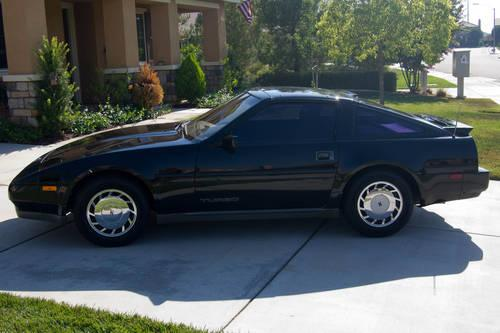1987 nissan 300zx turbo coupe 2 door 3 0l 55k miles t. Black Bedroom Furniture Sets. Home Design Ideas