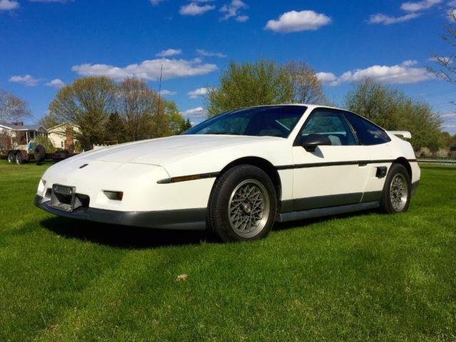 1987 Pontiac Fiero Gt For Sale In Bellview West Virginia
