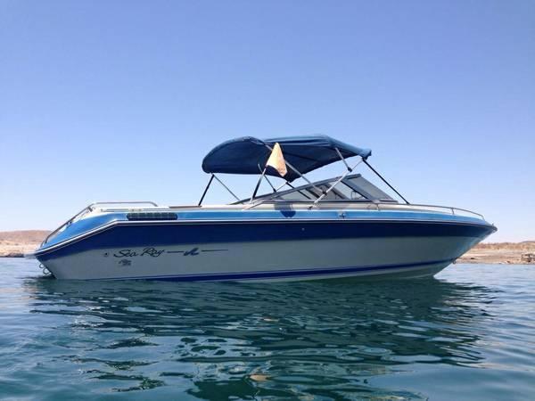 1987 Sea Ray 23 U0026 39  Open Bow 350 V-8