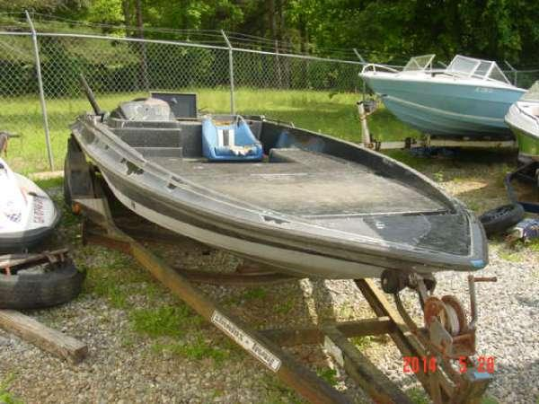 1987 Stratos 179 V Bass Boat Hull For Sale In Dawsonville  Georgia Classified