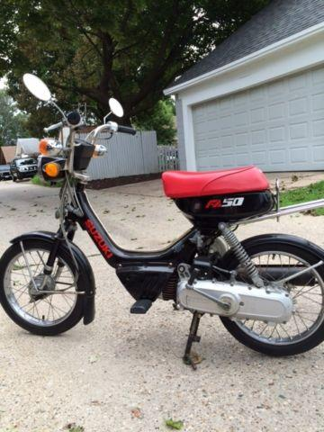 1987 Suzuki FA50 Shuttle 49cc scooter for sale -Good
