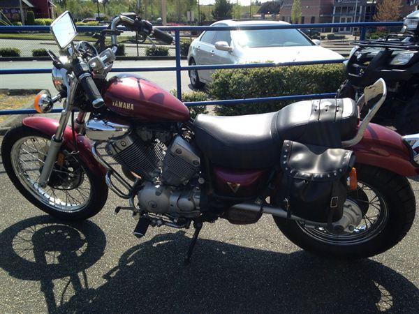 1987 yamaha virago 535 xv535 for sale in tacoma. Black Bedroom Furniture Sets. Home Design Ideas