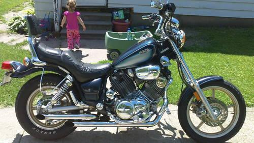 1987 yamaha virago xv1100 for sale in clinton iowa for Yamaha virago 1100 saddlebags