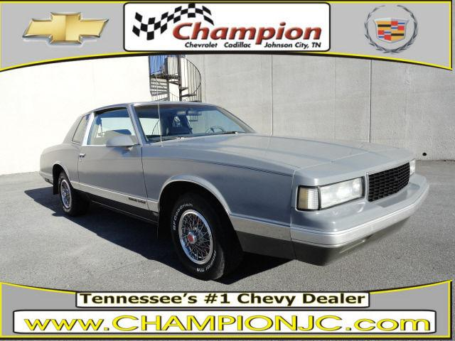1987 chevrolet monte carlo ls for sale in johnson city tennessee classified. Black Bedroom Furniture Sets. Home Design Ideas