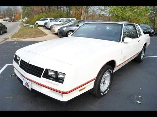 1987 chevrolet monte carlo ss for sale in flushing michigan classified. Black Bedroom Furniture Sets. Home Design Ideas