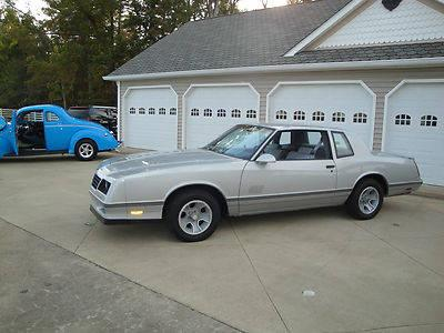 1987 chevy monte carlo ss one owner must see for sale in bee spring kentucky classified. Black Bedroom Furniture Sets. Home Design Ideas