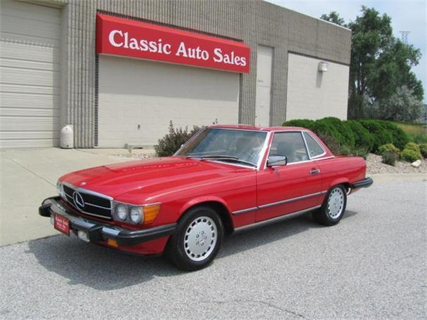 1987 mercedes benz 560sl for sale in omaha nebraska for Mercedes benz omaha
