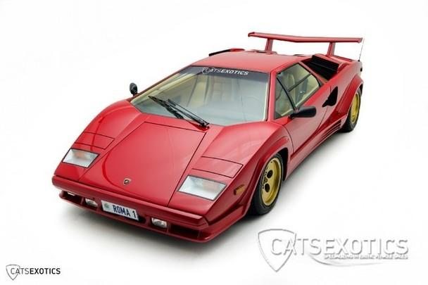 1988 5 lamborghini countach low miles extensive service. Black Bedroom Furniture Sets. Home Design Ideas