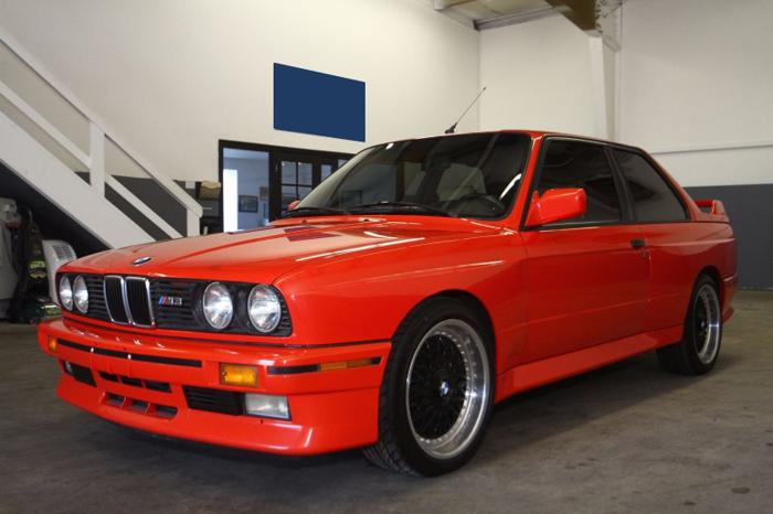 1988 Bmw M3 Extremely Rare Henna Red For Sale In Bellevue