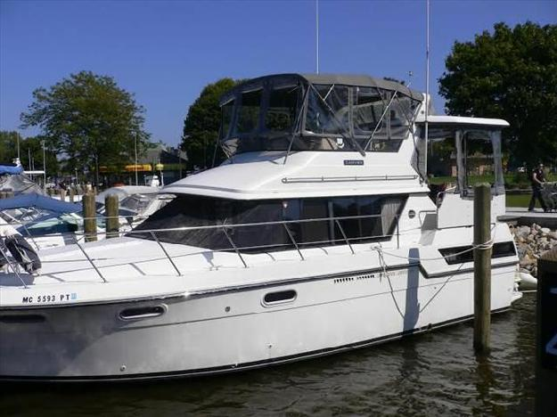 1988 carver 3807 aft cabin for sale in spring lake