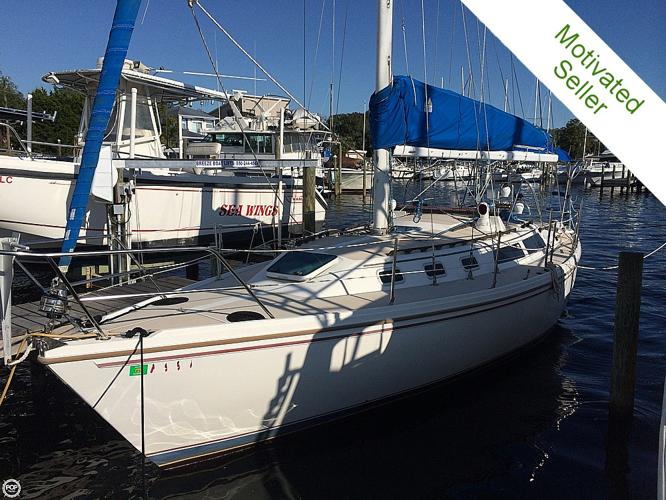 1988 Catalina 34T Sailboat