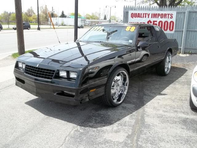 1988 chevrolet monte carlo for sale in rochester new york classified. Black Bedroom Furniture Sets. Home Design Ideas