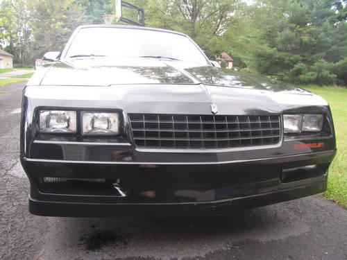 1988 chevrolet monte carlo ss t tops original owner chevy for sale in flemington new jersey. Black Bedroom Furniture Sets. Home Design Ideas