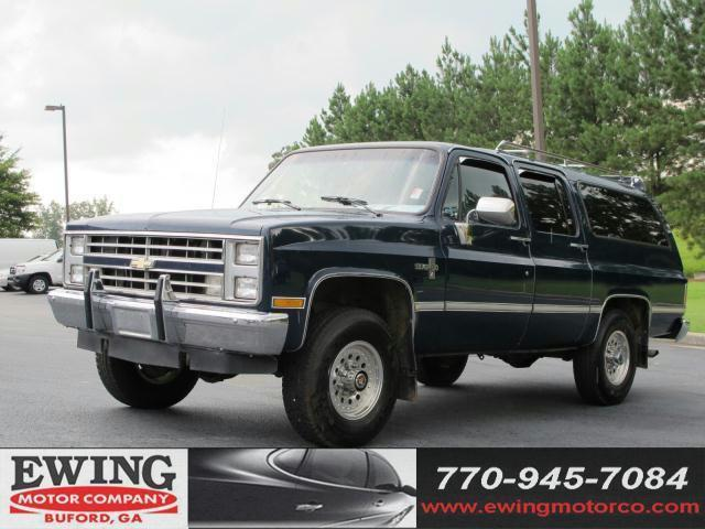 1988 chevrolet suburban v20 for sale in buford georgia classified. Black Bedroom Furniture Sets. Home Design Ideas