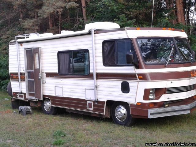 1988 Chevy Allegro Motor Home For Sale In Cadillac Michigan Classified Americanlisted Com