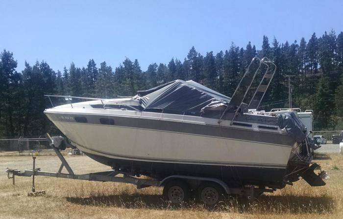 1988 Chriscraft Boat and Shorelandr Trailer for Sale