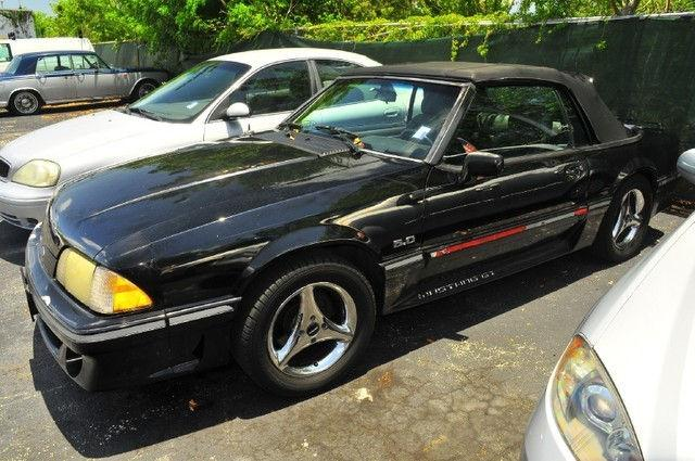 1988 ford mustang gt for sale in plantation florida classified. Black Bedroom Furniture Sets. Home Design Ideas