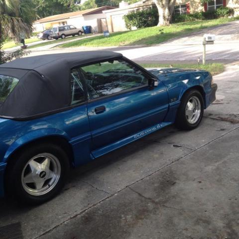 1988 ford mustang gt convertible for sale in largo florida classified. Black Bedroom Furniture Sets. Home Design Ideas
