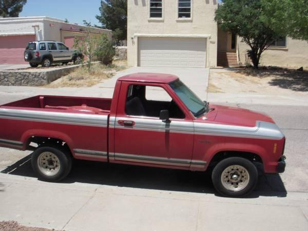 1988 ford ranger truck for sale in el paso texas classified. Black Bedroom Furniture Sets. Home Design Ideas